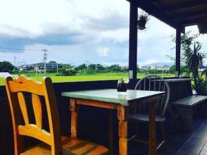 カフェ風景